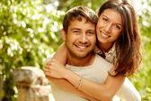 Szczęśliwa para — Zdjęcie stockowe