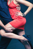 Dance of passion — Stock Photo
