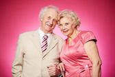 Casal de aposentados — Foto Stock