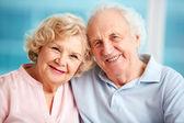 Schöne senioren — Stockfoto