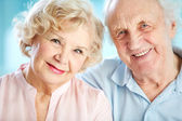 Charming elders — Stock Photo