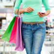 Modern shopper - Stock Photo