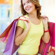 Joyful consumer - Stock Photo