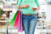 Modern shopper — Stock Photo