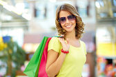 Summer shopper — Stock Photo
