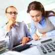 Busy accountants — Stock Photo