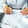 Accounting notes — Stock Photo #24193573
