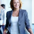 Charming businesswoman — Stock Photo #24195243