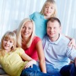 Casual family - Foto Stock