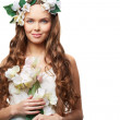 Stock Photo: Spring bride