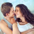 Sweet embrace - Stock Photo