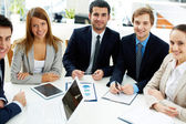 Team of co-workers — Stock Photo