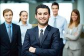 Mannelijke leider — Stockfoto