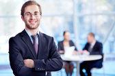 успешный босс — Стоковое фото