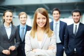 Successful businesswoman — Stockfoto