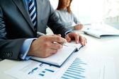 Planning van werkzaamheden — Stockfoto