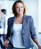 Charming businesswoman — Stockfoto