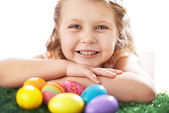Easter girl — Stock Photo