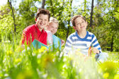 Restful kids — Stock Photo