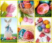 Easter symbols — Stock Photo