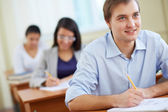 Attentive student — Stock Photo