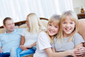 Twin sisters — Stock Photo