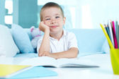 Little learner — Stock Photo