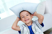 Pillow hat — Stock Photo
