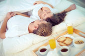 Lazy morning — Stock Photo