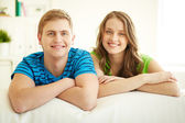 Resting at home — Stock Photo