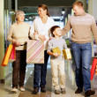 Family shopping — Stock Photo #24200693