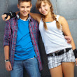 Friendly teens — Stock Photo