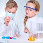 Children scientists — Stock Photo #24204511