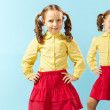 Fashionable kids — Stock Photo #24204975
