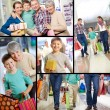 Happy shoppers — Stock Photo #24205395