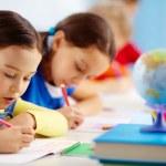 School test — Stock Photo #24205763