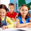 Stock Photo: Elementary students