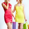 Stock Photo: Lovely shopping