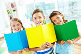 Cheerful learners — Stock Photo