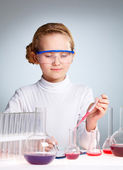 Lab worker — Stock Photo
