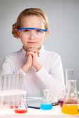 Science enthusiast — Stock Photo