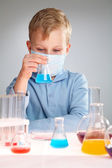 Chemical experiment — Stock Photo