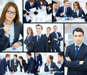 Business moments — Stockfoto