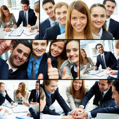 Business partnership — Foto de Stock