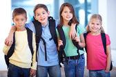 Compañeros de escuela — Foto de Stock