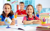 Youthful learners — Foto Stock