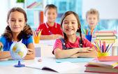 若々しい学習 — ストック写真