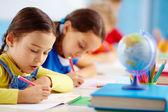 Test scuola — Foto Stock