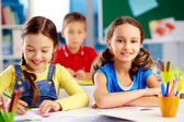 Estudiantes de primaria — Foto de Stock