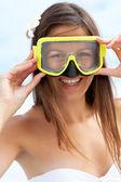 女性ダイバー — ストック写真